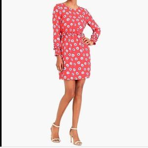 J. crew Factory Floral Dress Long Sleeves